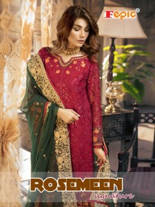FEPIC ROSEMEEN SIGNATURE LATEST PAKISTANI SUITS