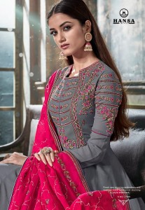 HANSA  HUSNA LIBAS ASIAN DESIGNER SUITS ONLINE
