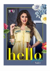 S4U HELLO JACKETS VOL 3 LATEST KURTIS DESIGN