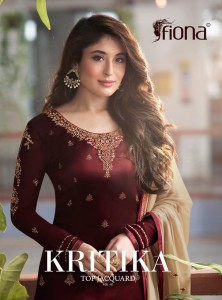 FIONA KRITIKA TOP JACQUARD VOL 1 BUY PAKISTANI DESIGNER SUITS