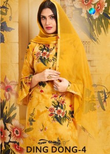 YOUR CHOICE DING DONG VOL 4 PAKISTANI SUITS AT WHOLESALER PRICE