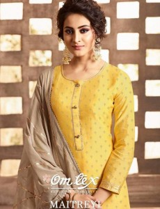 OM TEX MAITREVI DESIGNER SALWAR SUITS WITH PRICE