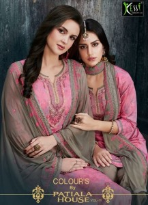 KESSI FABRICS COLOURS BY PATIALA HOUSE 11 SALWAR KAMEEZ IN ENGLISH