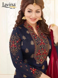 LAVINA VOL 49 PAKISTANI SUITS WHOLESALERS IN HYDERABAD