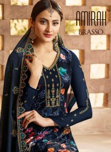 AMIRAH BRASSO PAKISTANI SUITS AT WHOLESALE PRICE