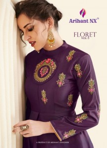 ARIHANT FLORET VOL 5 KURTIS MANUFACTURER IN DELHI