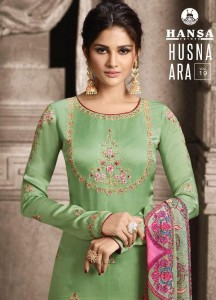 HANSA PRINTS HUSNA ARA VOL 19 PAKISTANI SUITS 2019 ONLINE
