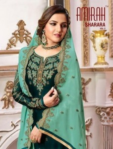 AMIRAH SHARARA VOL 2 DESIGNER SHARARA STYLE SALWAR KAMEEZ AT WHOLESALER PRICE
