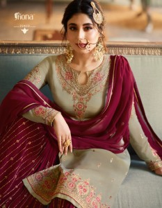 FIONA KRITIKA SHARARA VOL 7 PAKISTANI SUITS AMAZON