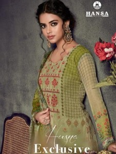 HANSA HUSNA EXCLUSIVE VOL 4 DESIGNER SALWAR SUITS WITH PRICE