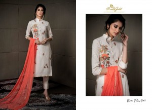 RVEE GOLD EVEN FLOW CITTON SALWAR KAMEEZ UNSTITCHED