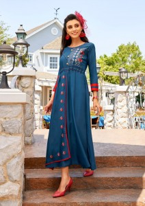 RANGJYOT HERRY VOL 1 RAYON LONG KURTIS