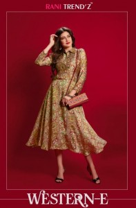 RANI TRENDZ WESTERN PART E KURTI WHOLESALE