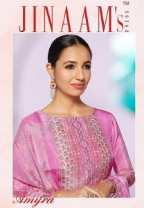 JINAAM DRESS AMYRA SUITS CATALOGUE WITH PRICE 2018