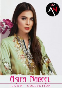 ASIFA NABEEL LAWN COLLECTION 2020