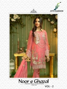 JUVI FASHION NOOR E GHAZAL VOL 2 PAKISTANI SUITS WHOLESALER