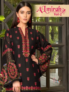 SHREE FABS ALMIRAH VOL 2 COTTON SALWAR KAMEEZ NEW FASHION