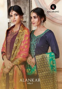 KALARANG ALANKAR VOL 7  SURAT  SUITS  ONLINE SHOPPING