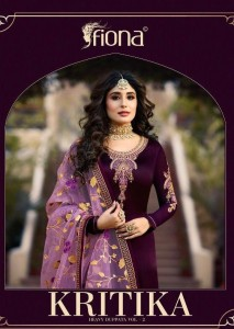 FIONA KRITIKA HEAVY DUPATTA VOL 2 CATALOGUE WITH PRICE