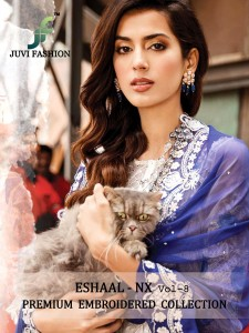 JUVI FASHION ESHAAL VOL 8 NX  WHOLESALE SALWAR KAMEEZ ONLINE SHOPPING