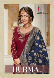 EBA LIFESTYLE HURMA VOL 11 PAKISTANI SUITS SHOPS IN DELHI