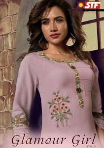 STF GLAMOUR GIRL VOL 21 KURTIS DESIGN CATALOGUE