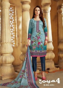 DEVI ZOYA VOL 4 COTTON KARACHI SUITS AT CHEAP PRICE SURAT