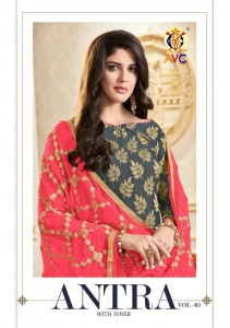 AVC ANTRA VOL 5   PAKISTANI SALWAR SUITS ONLINE SHOPPING