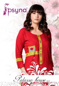 PSYNA PALAZZO HOUSE VOL 5  WHOLESALE KURTIS MANUFACTURER