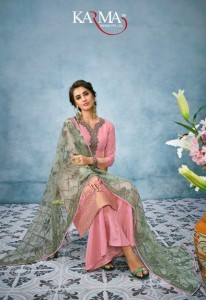 KARMA TRENDZ 18018 SERIES DESIGNER SALWAR SUITS WITH PRICE