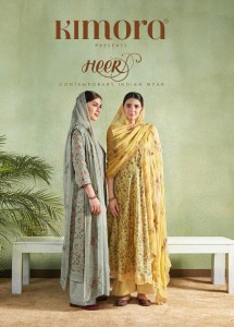 KIMORA FASHION HEER VOL 46 WHOLESALE SALWAR KAMEZ CATALOGUE WITH PRICE
