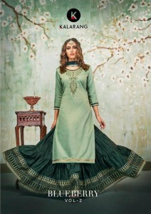 KALARANG BLUEBERRY VOL 2 SALWAR KAMEEZ NEW CATALOGUE