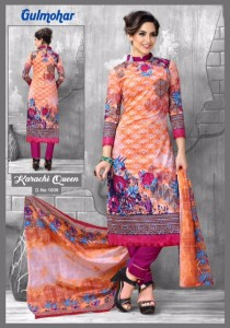 GULMOHAR KARACHI QUEEN KARACHI SUITS CATALOGUE
