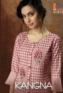 TUNIC HOUSE KANGNA COTTON KURTIS