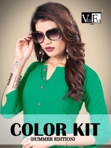 VF INDIA COLOR KIT LATEST PALAZO KURTIS