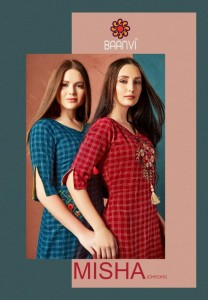 BAANVI MISHA KURTIS AT BEST PRICE