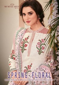 MUMTAZ ARTS SPRING FLORAL LAWN SUITS IN INDIA