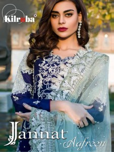 KILRUBA JANNAT AAFREEN WHOLESALE PAKISTANI SUITS