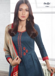 OMTEX AABISH LAWN COTTON DRESS MATERIAL