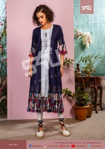 S4U HELLO JACKET VOL 4  KURTIS MANUFACTURER