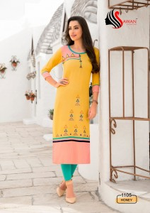 SAWAN HONEY VOL 11   KURTIS WHOLESALER