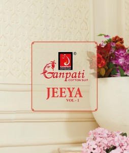 GANPATI JEEYA VOL 1 UNSTITCHED COTTON SUITS