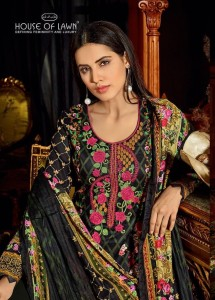 HOUSE OF LAWN MUSLIN VOL 10 LAWN COLLECTION WHOLESALE INDIA