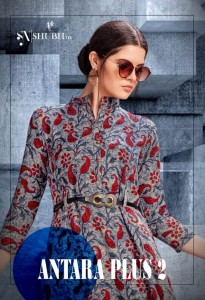 SHUBH NX ANTRA PLUS VOL 2 KURTIS WHOLESALER