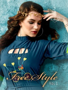 DIKSHA FASHION FREE STYLE VOL 1 WHOLESALE KURTIS IN SURAT