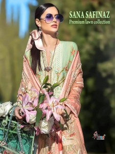 SHREE FABS  SANA SAFINAZ PREMIUM LAWN COLLECTION SALWAR KAMEEZ WHOLESALER