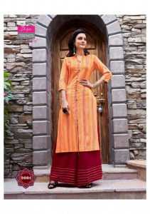 DIYA TRENDS BIBA VOL 2 KURTI WITH PALAZZO