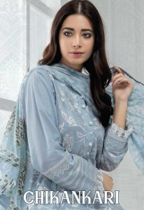 DEEPSY CHIKANKARI COTTON PAKISTANI SUITS IN SURAT