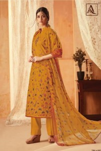 ALOK AASFA CHIFFION DUPATTA SUITS ONLINE