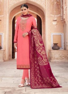 TUNIC HOUSE GULSHAN JACQARD DUPATTA SUITS